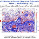 Mesoscale and Submesoscale Air-Sea Coupling