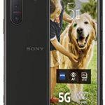 Sony Xperia 5 II – 6.1 Inch 21:9 CinemaWide™ FHD+ HDR OLED display 120Hz – Triple lens camera – 3.5 mm audio jack – Android 10 – SIM free – 8 GB RAM – 128 GB Storage – Dual SIM hybrid – 5G – Black