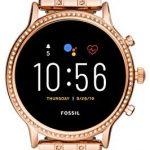 Fossil Women's Gen 5 Smartwatch Julianna HR with Wear OS by Google, HeartRate Tracker, GPS, Smartphone Notifications and Loudspeaker