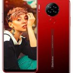 Blackview A80 (2021) 4G Mobile Phone, Android 10 Quad-core 2GB+16GB SIM Free Smartphone Unlocked, 6.21″ Waterdrop Full-Screen, 5MP Front Camera + 13MP Quad Rear Camera, Dual SIM 4200mAh Battery -Red