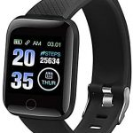Smart Watch, 1.33″ Touch Screen Smartwatch, Activity Trackers with Heart Rate Monitor, IP67 Waterproof Fitness Tracker Watch with Sleep Monitor, Pedometer Stopwatch Smart Watch for Kids Men Women