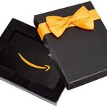 Amazon.co.uk Gift Card for Custom Amount in a Black Box – FREE One-Day Delivery