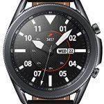 Samsung Galaxy Watch 3 Stainless Steel 45 mm Bluetooth Smart Watch – Mystic Black (UK Version)