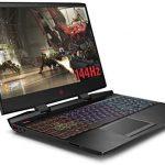 HP OMEN 15-dc1044na 15.6 Inch FHD 144HZ Gaming Laptop, Intel Core i7-9750H, 16 GB RAM, 512 GB SSD, NVIDIA GeForce RTX 2060 (6 GB Dedicated) Graphics, Windows 10 Home – Black