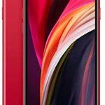 Apple iPhone SE 2nd Generation, 64GB, Red (Renewed)