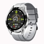 X Electron Urban S1 Smart Watch, 7 Days Battery, IP67 Waterproof, HR, BP, SpO2, BT Calling, Touch Screen, Multiple Watch Faces, 9 Workout Modes, Sleep Monitor (Pewter Grey, 46mm)