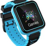 Kids Smartwatch Phone for Boys Girls with HD Touch Screen, Smart Watch for Kids with Games Music Player Two-Way Call SOS Flashlight Calculator Recorder Alarm Clock, Birthday Gifts for 3-12Y (BLUE)