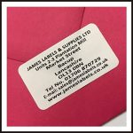 260 White Personalised Address Labels/Return Address Labels – Amazon TOP Sellers!