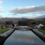 Caledonian Canal & Lock Chambers, Scotland