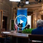 Biden Discusses Economic Benefits of Climate Initiative
