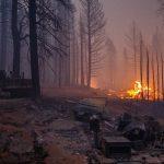 Caldor Fire Grows in California